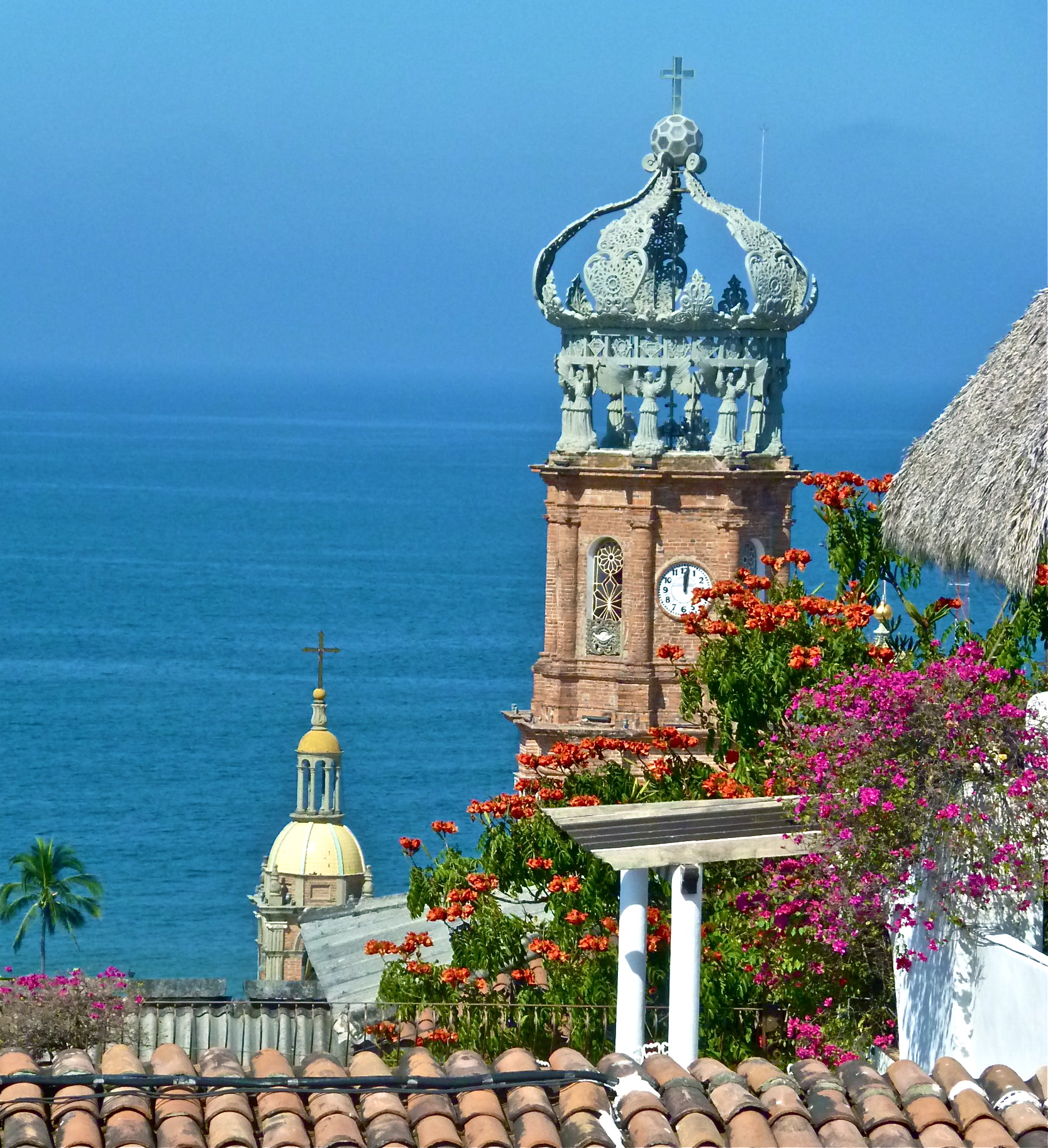 Iconic Church, Our Lady of Guadalupe, Puerto Vallarta (photo ©The Mexico Report)