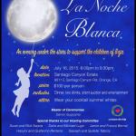 Corazon de Vida's La Noche Blanca 2015 Annual Fundraiser, July 16
