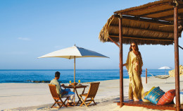 One&Only Palmilla beach in Los Cabos, Mexico; photo used with permission from One&Only Palmilla