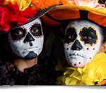 Dia de los Muertos 2016 at Sandos Caracol Eco Resort (via TheMexicoReport.com)